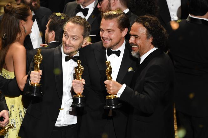 Les trois primés pour le film