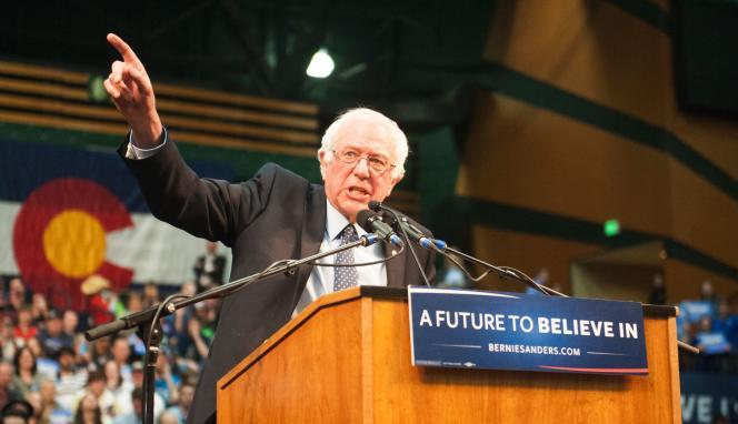 Bernie Sanders le 28 février.