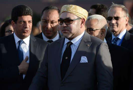 Le roi Mohammed VI à Ouarzazate, le 4 février 2016.