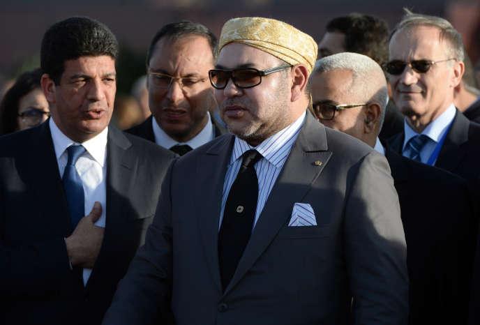 Mohammed VI, à Ouarzazate, le 4février.