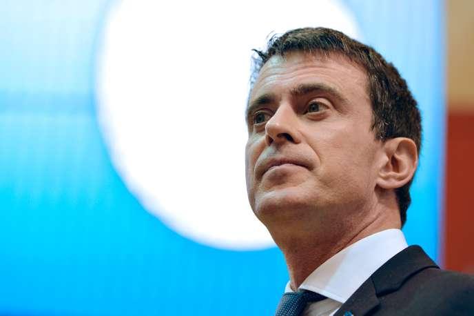 Manuel Valls au salon de l'agriculture, le 29 février.