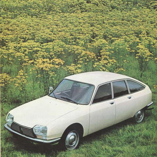 La Citroën GS.
