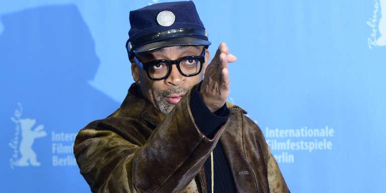 Le cinéaste Spike Lee au Festival international du film de Berlin, le 16 février.