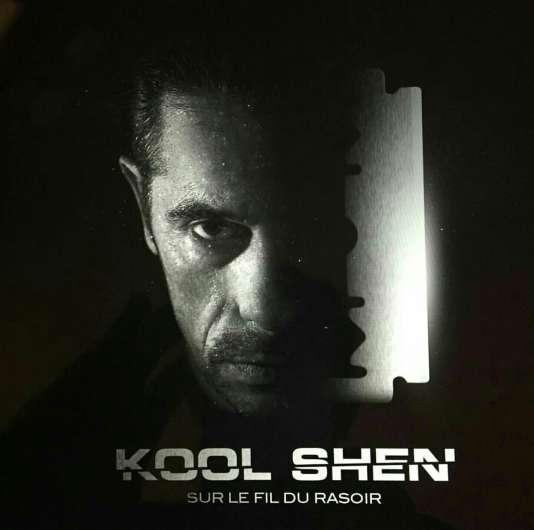 Pochette de l'album « Sur le fil du rasoir », de Kool Shen.