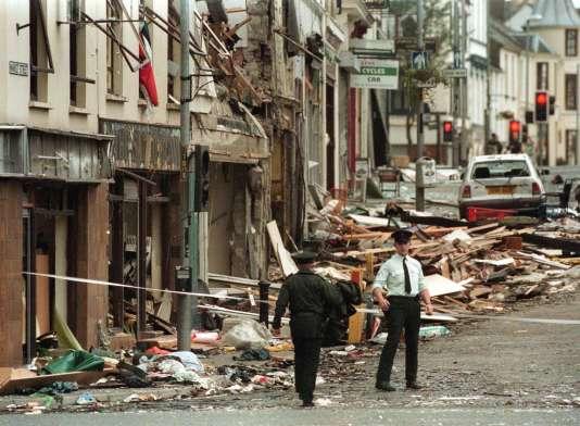Le 15 août 1998, un attentat à la voiture piégée avait tué 29 personnes à Omagh, en Irlande du Nord.