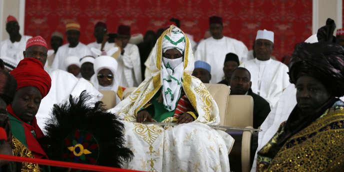 L'émir de Kano, la grande ville du nord du Nigeria.