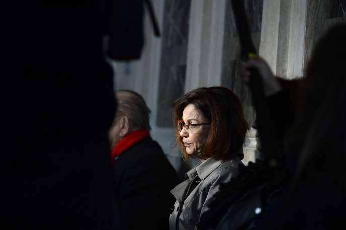 La mère d'Aurélie Fouquet, la policière municipale tuée en mai 2010.