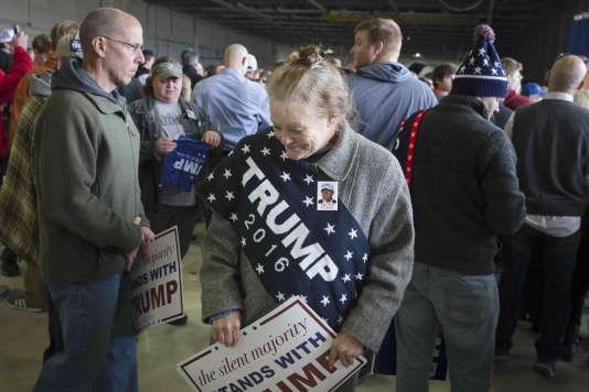 Des partisans de Donald Trump dans l'Ohio.