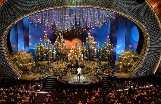 Lors de la 88e cérémonie des Oscars, le 28 février, au Dolby Theater de Los Angeles.
