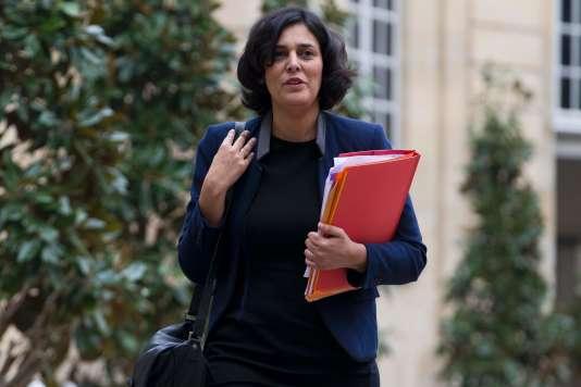 Myriam El Khomri à Matignon le 18 février.