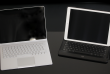 Le Surface Book et l'iPad pro.