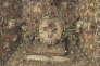 Coffret-reliquaire, Suisse (XVIIe siècle). Cire, bois, argent, soie, verre et fil d'or.