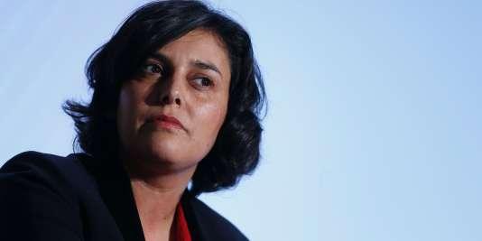 La ministre du travail,  Myriam El Khomri, le 3 février 2016.