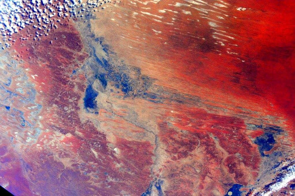 Au-dessus de l'Australie, avril 2015.