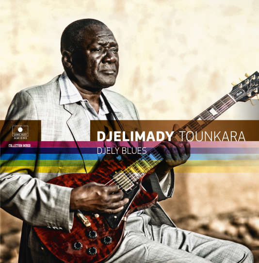 Pochette de l'album « Djely Blues », de Djelimady Tounkara.