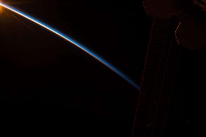 Photo prise de la Station spatiale internationale.
