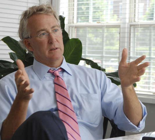 Aubrey McClendon, alors PDG de Chesapeake Energy, le 2 août 2007 à Oklahoma City.