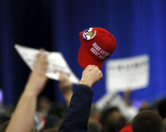 Soutiens au candidat républicain Donald Trump dans le Kentucky, le 1er mars.