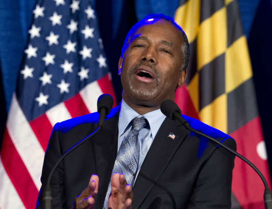 Ben Carson, à Baltimore (Maryland), le 1er mars.