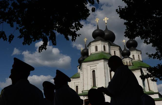 Une église orthodoxe russe.