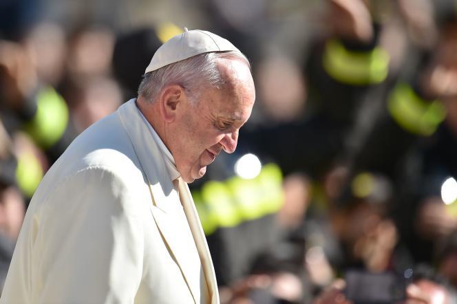 Le pape François, mercredi 2 mars.