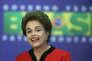 Dilma Rousseff, présidente de la République du Brésil.
