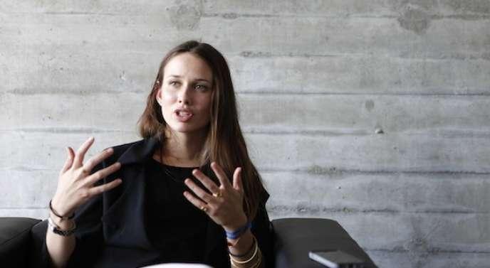 Alisée de Tonnac, directrice générale de Seedstars, qui organise une compétition mondiale de start-up. A la clé : un million de dollars d'investissement.
