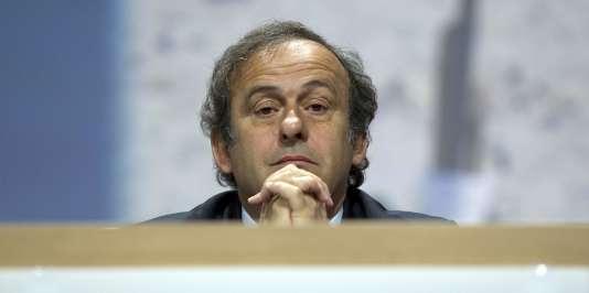 Michel Platini, en juin 2011.