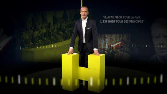 Franck Ferrand présentateur de la nouvelle émission de France 3 «L'Heure H».