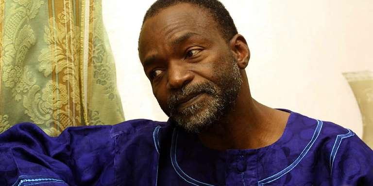 Saleh Kebzaboh, à N'Djamena, en mai 2001.