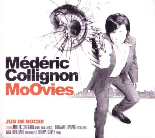 Pochette de l'album «MoOvies», de Médéric Collignon et Jus de Bocse.