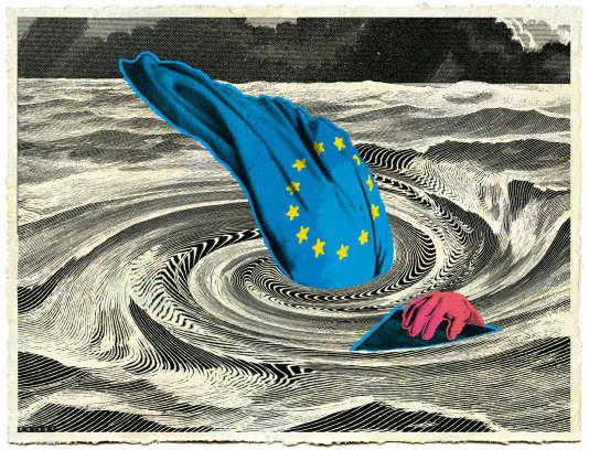 """""""Si, pour toute réponse, la gauche persiste à accabler de son mépris culturel ses anciens électeurs, l'«Europe», au lieu de se refonder de façon relativement ordonnée, se décomposera chaotiquement par suite de la stagnation économique et d'une immigration illimitée. Une hypothèse rendue plausible par la rigidité des élites européennes, qui est en fait de la lâcheté."""""""