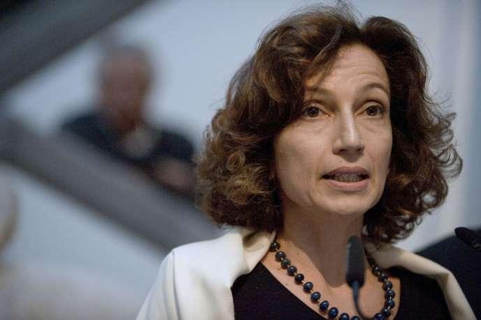 Ex-ministre de la culture de François Hollande, Audrey Azoulay a été désignée directrice générale de l'Unescodepuis octobre 2017.