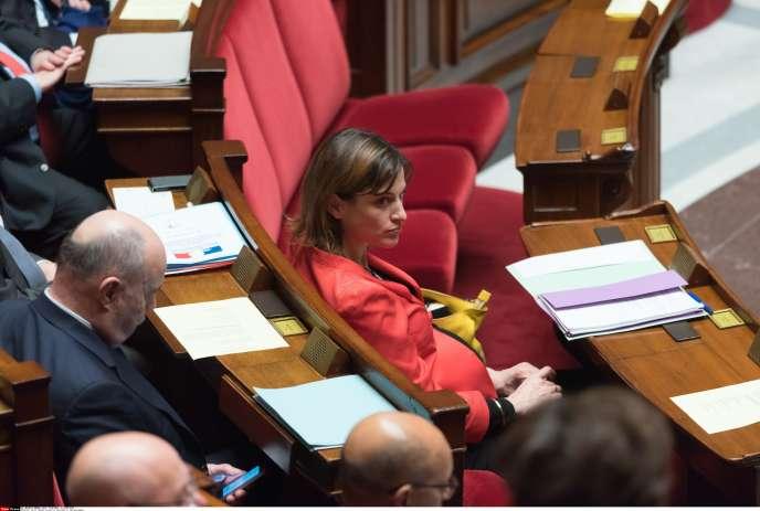 Juliette Méadel, secrétaire d'Etat chargée de l'aide aux victimes, à l'Assemblée nationale, le 17février.