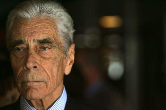 Yves Guéna, le 2 octobre 2006.