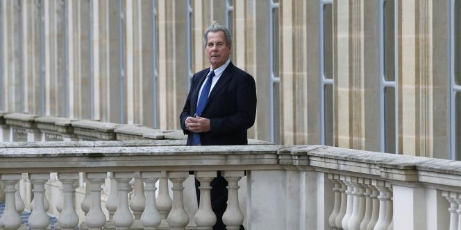 Jean-Louis Debré, président du Conseil constitutionnel du 5 mars 2007 au 5 mars 2016. Le 9 février.