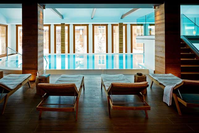 Le spa de l'hôtel Nira Montana à La Thuile.