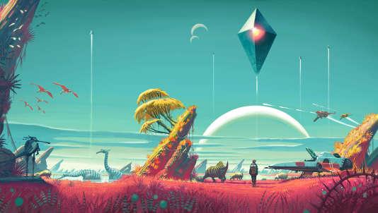 """""""No Man's Sky"""", initialement présenté comme un jeu indé, est commercialisé au prix d'un blockbuster."""