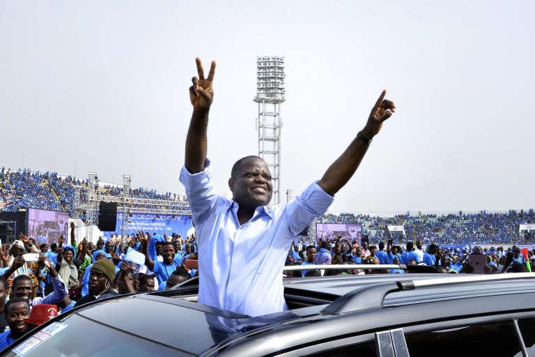 L'homme d'affaires béninois Sébastien Ajavon, le 3 janvier 2016 à Cotonou.