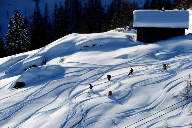 Le domaine skiable de La Thuile offre 160km de pistes.