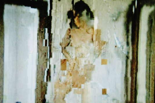 Image pixelisée d'une scène pornographique.