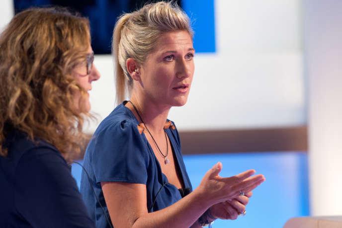 Isabelle Veyrat-Masson et Laetitia Krupa.