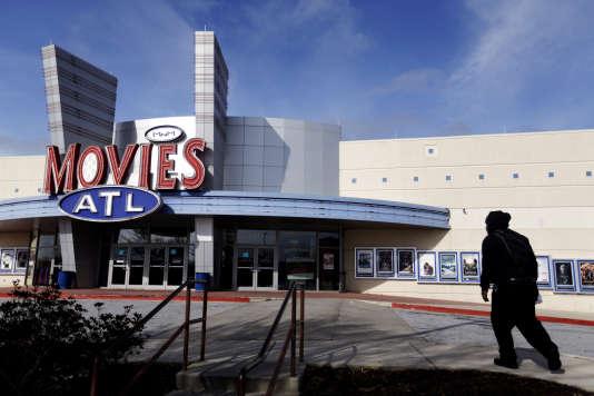 Une salle de cinéma à Atlanta.