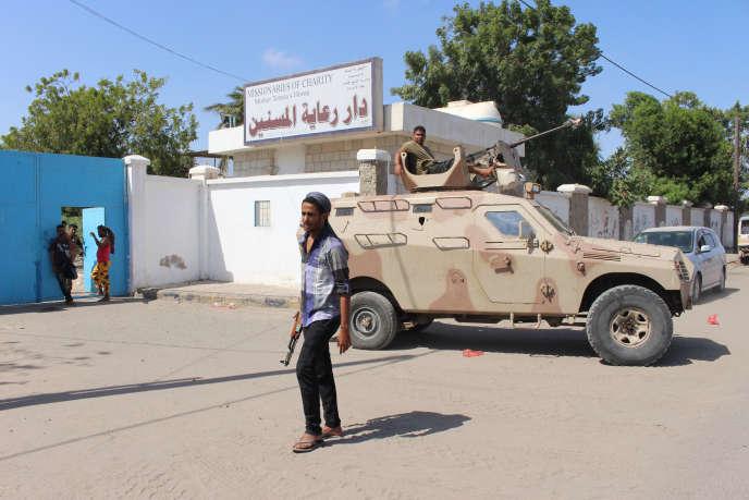L'attaque contre un hospice catholique a fait au moins 16 morts vendredi 4mars à Aden, au Yémen.