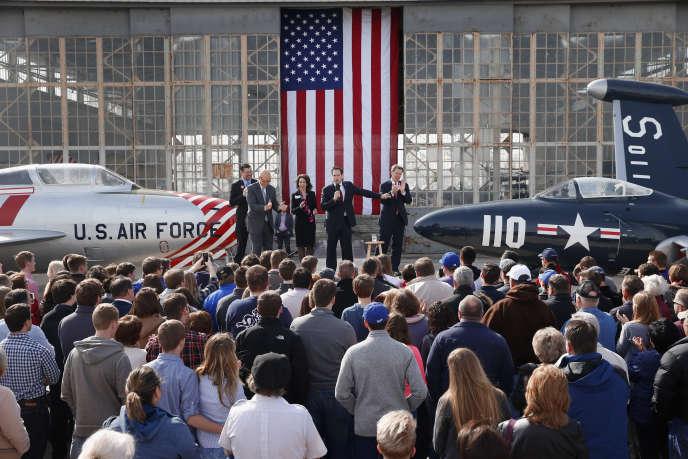 Marco Rubio, en campagne à Topeka, dans le Kansas, vendredi 4 mars.