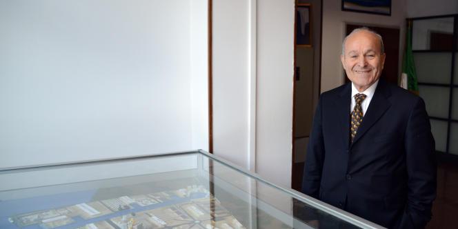 Issad Rebrab, le patron algérien à la tête de Cevital.