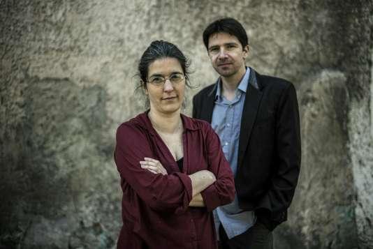 Brigitte Gothière et Sébastien Arsac.