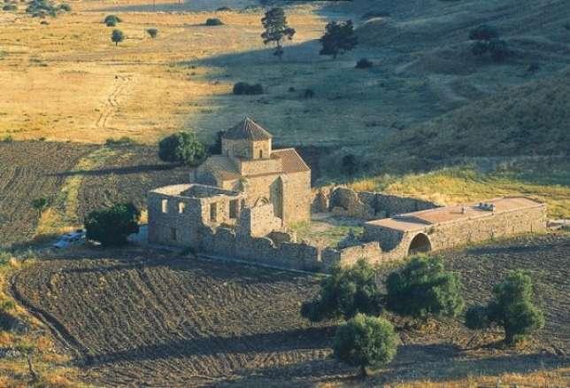 Le monastère vénitien Panagia tou Sinti, dans la région de Paphos.