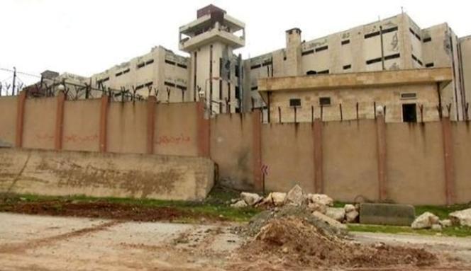 La prison centrale de la ville d'Alep (Syrie).