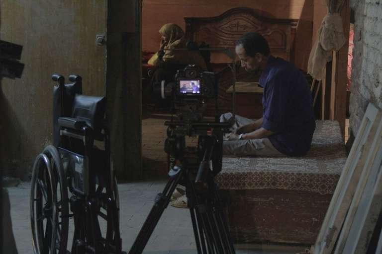 """Extrait du film-documentaire """"Om Amira"""" (La mère d'Amira), de Naji Ismail, le premier réalisé par Rahala (présenté à la Berlinale de 2014)."""